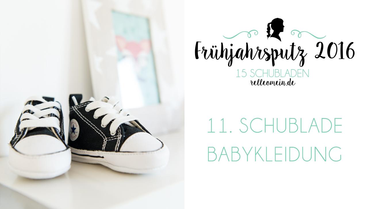 Frühjahrsputz 2016 – Babykleidung aufbewahren  (Video)