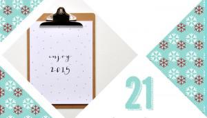 21 Türchen Adventskalender - 24 Days til Christmas | relleomein.de #adventskalender