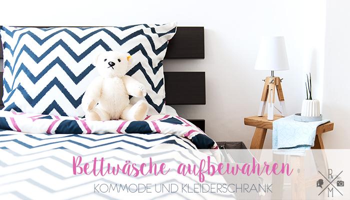 Bettwäsche aufbewahren [Werbung]