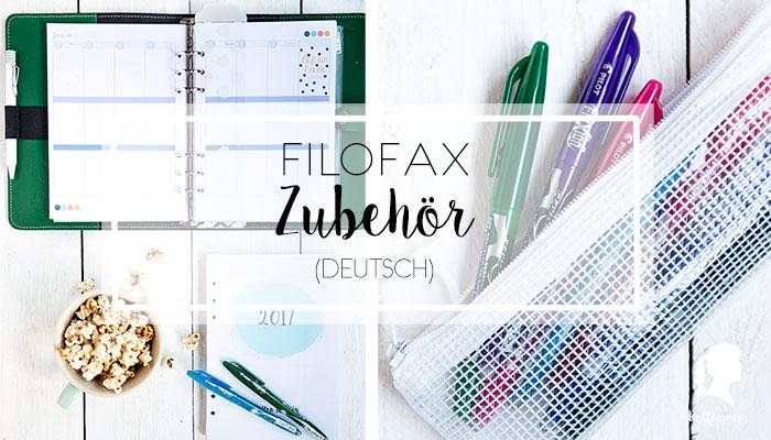 Filofaxing – Zubehör und Bullet Journal Key