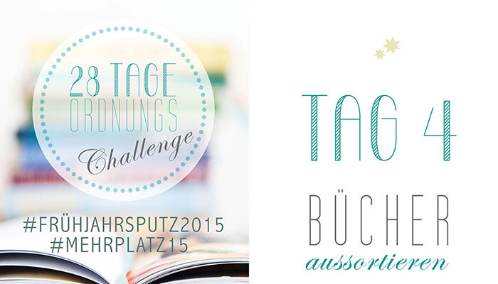 Frühjahrsputz 2015 – Bücher