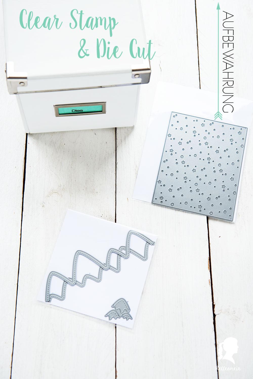 Frühjahrsputz 2017 - Clear Stamp Aufbewahrung - Clear Stamps und Die Cuts - Ordnung - Stempelaufbewahrung | relleomein.de