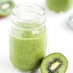 Green Smoothie mit Kiwi und Kokos | relleomein.de