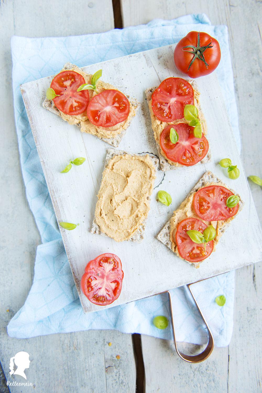 Hummus schnell und einfach selbst gemacht - Hummus Rezept mit wenigen Zutaten | relleomein.de
