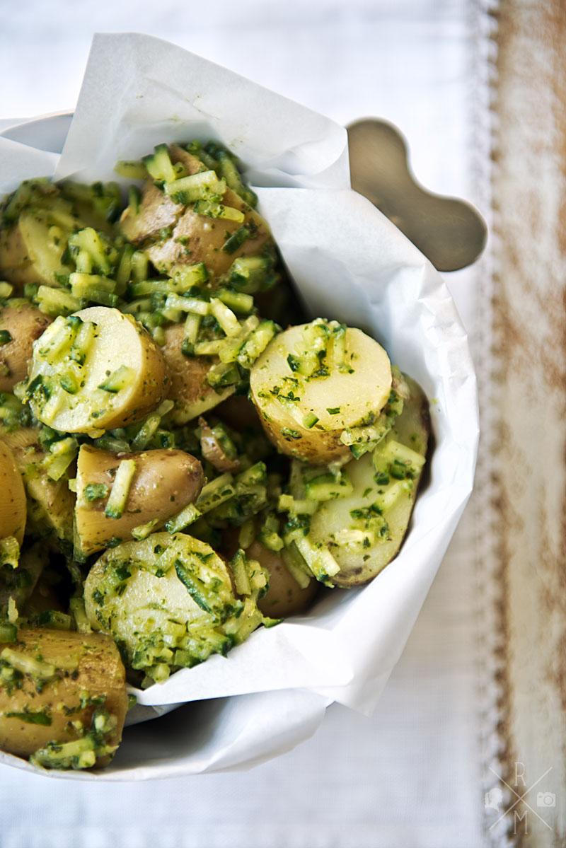 Kartoffel, Gurke und Minze – eine perfekte Kombination