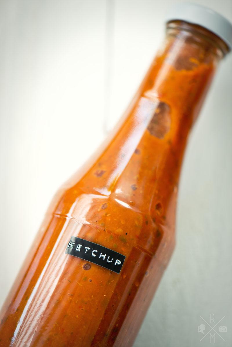 richtig guter ketchup rezepte ordnungsideen und diy. Black Bedroom Furniture Sets. Home Design Ideas