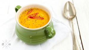 Roasted Thai Pumpkin Soup | relleomein.de #thai #pumpkin #soup #recipe #kürbissuppe #halloherbst14
