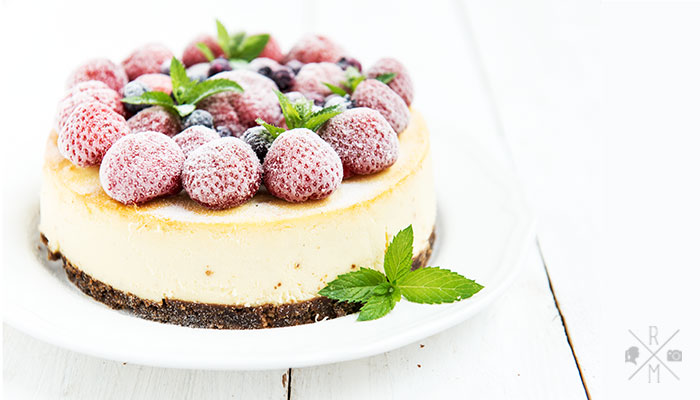 New York Cheesecake (inkl. Thermomix Variante)