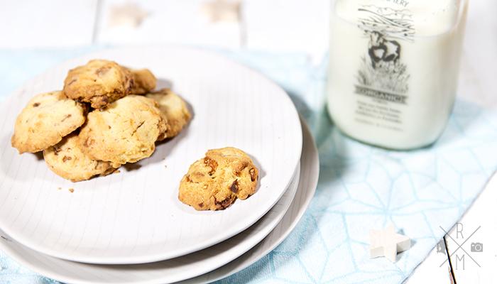 New York Christmas – weihnachtliche Macadamia Kekse