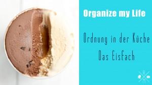 Ordnung in der Küche - In diesem Video erkläre ich wie Du dein Eisfach schnell und einfach aufräumen kannst.   relleomein.de #organizemylife