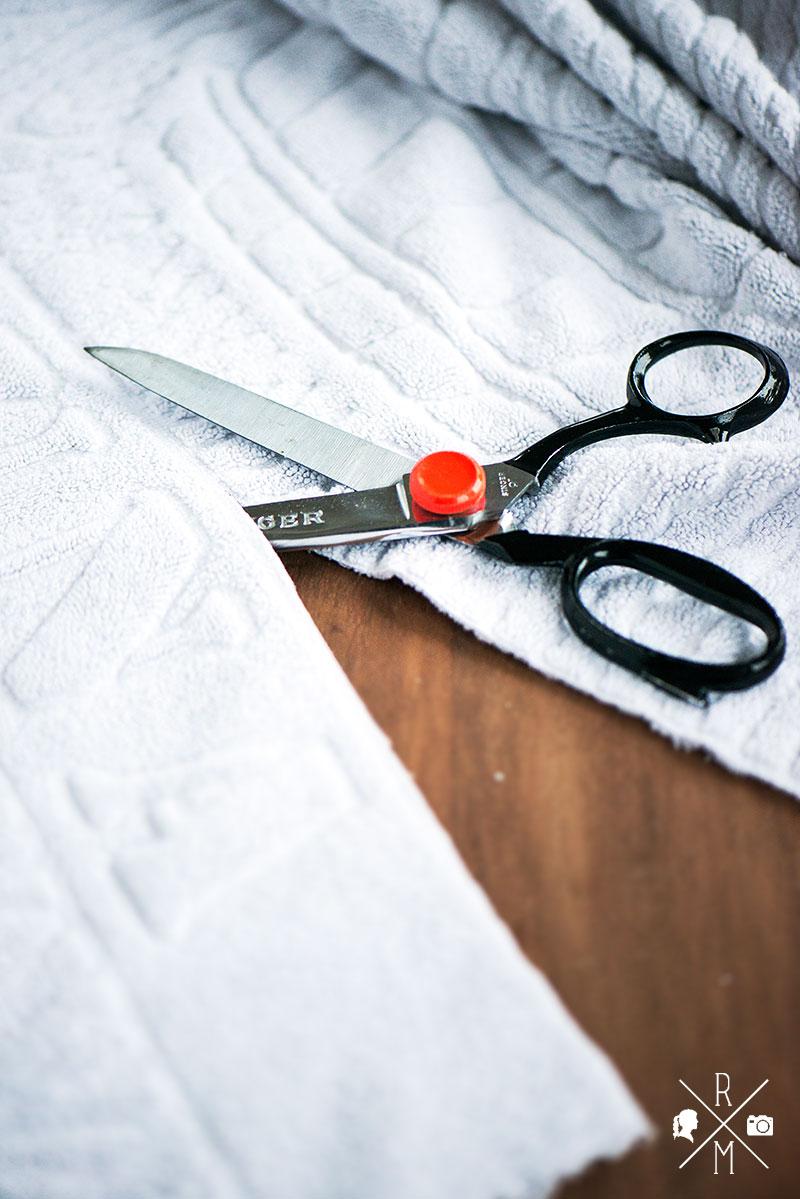 Selbst gemachte Swiffer Tücher aus alten Handtüchern   relleomein.de