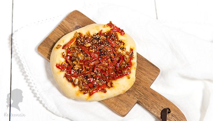 Türkei vegetarisch: Paprika Fladen