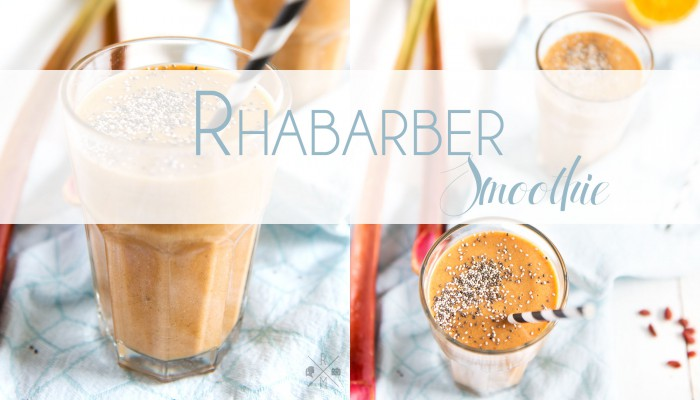 Rhabarber Smoothie (inkl. Thermomix Variante)