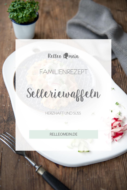Herzhafte Waffeln mit Sellerie - Waffeln für Kinder - Einfaches Waffelrezept - Thermomix ® Rezept | relleomein.de