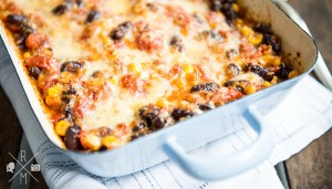 Skinny mexican casserole   relleomein.de #skinny #recipe #veggy