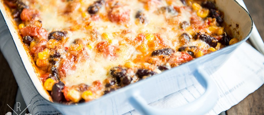 Skinny Mexican Casserole (inkl. Thermomix Variante)