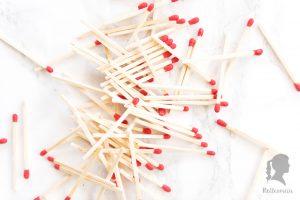 Zero Waste - Besser Leben ohne Plastik in der Küche - plastikfreie Alternativen für die Küche - Streichhölzer als Alternative zu Feuerzeugen| relleomein.de