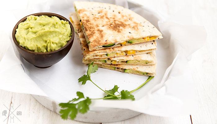Zucchini Quesadillas