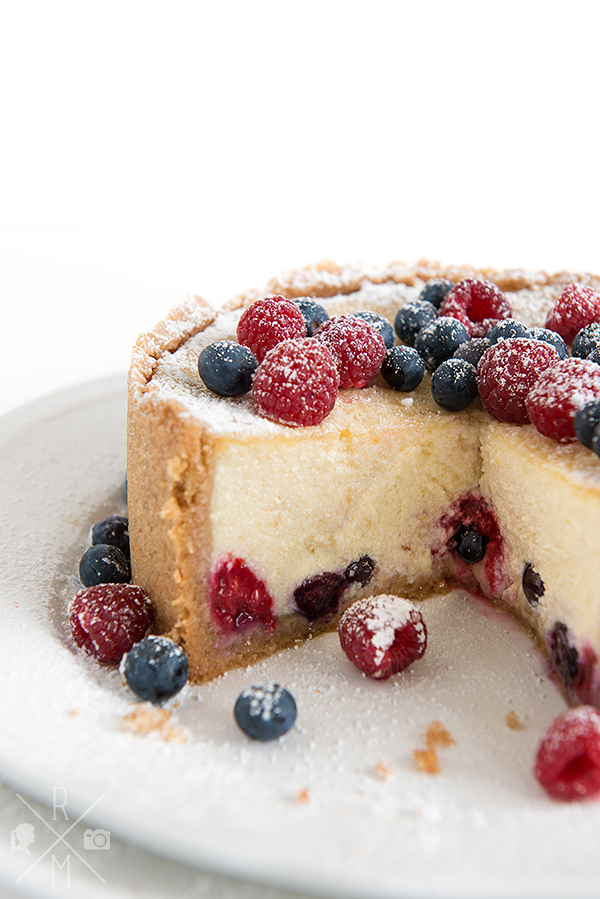 vegan Cheesecake with fruit | relleomein.de
