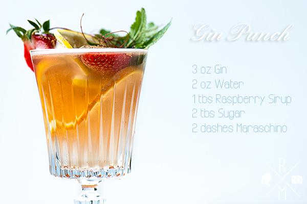 Gin Punch Recipe Rezept | relleomein.de