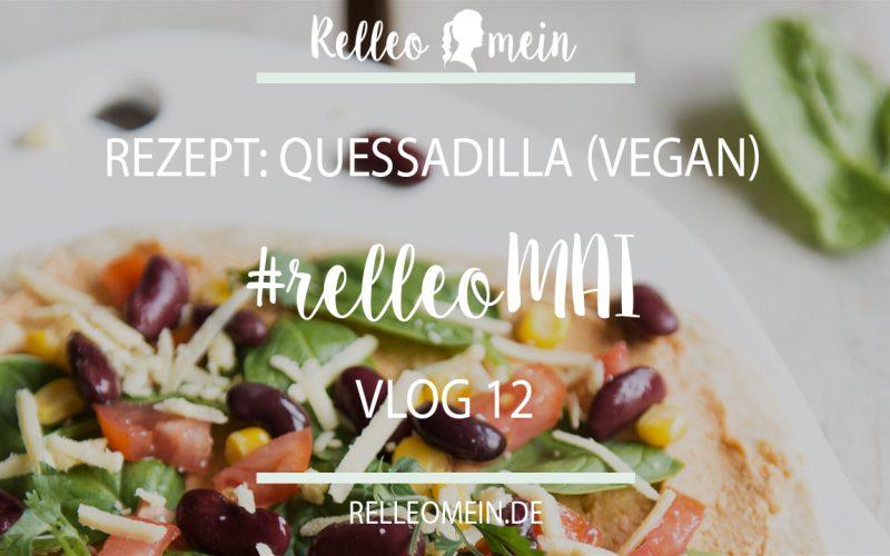 Quesadilla mit Hummus (vegan)