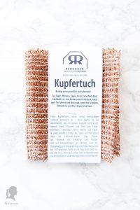 Zero Waste - Besser Leben ohne Plastik in der Küche - plastikfreie Alternativen für die Küche - Scheuerschwamm Alternative Kupfertuch | relleomein.de